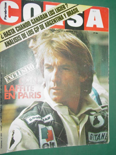revista corsa 663 laffite lammers wing march interlagos raly