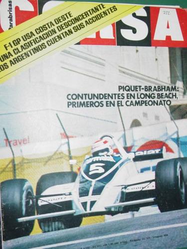 revista corsa 722 piquet brabham reutemann ascari renault 5