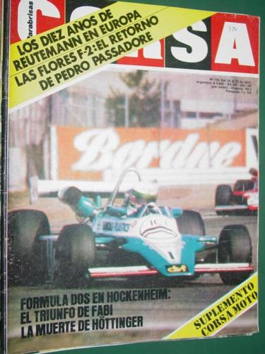 revista corsa 724 reutemann hockkenheim hottinger zunino f2