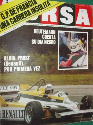 revista corsa 788 reutemann alain prost francia angel nieto