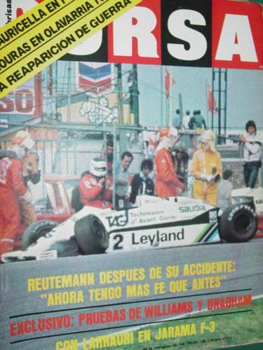 revista corsa 797 reutemann f1 larrauri mouras lauricella
