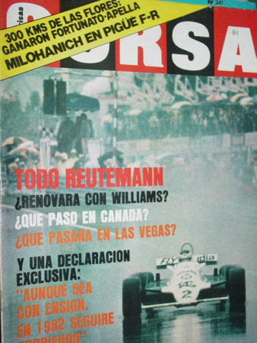 revista corsa 801 reutemann milohanich zanella 200 karting