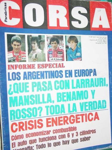 revista corsa 887 argentinos alconafta rally tour de corse