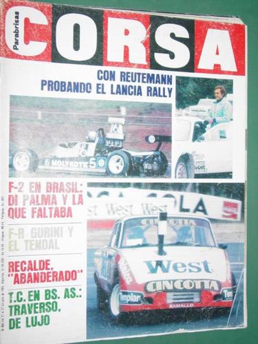 revista corsa 890 reutemann rally gurini recalde traverso