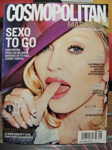 revista cosmopolitan con madonna, en español, musica