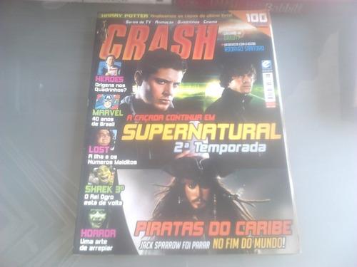 revista crash nº 5  - complete sua coleção -