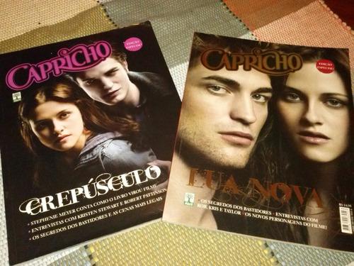 revista crepusculo e revista lua nova