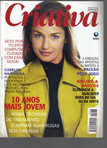 revista criativa nº 86-ano v i i i-junho/1996-ed. globo