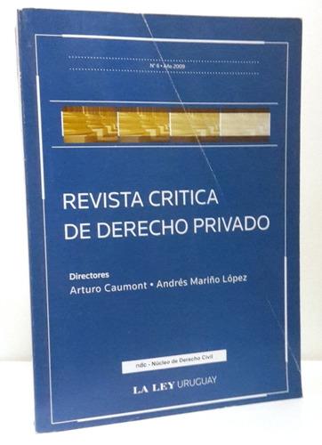 revista crítica de derecho privado nº6 - mariño y caumont