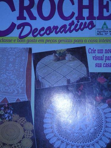 revista crochê decorativo para casa, n 16 ed liberato