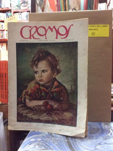 revista cromos antigua abril 1934