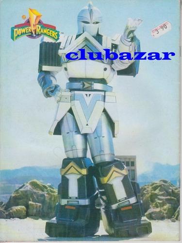 revista cronicas oficiales de power rangers 1996 argentina