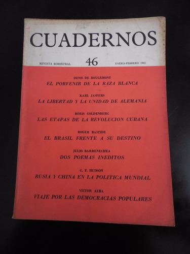 revista cuadernos 46 denis de rougemont jaspers bastide