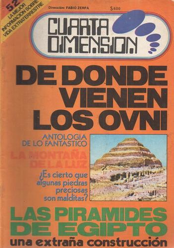 revista cuarta dimension 52 - director fabio zerpa