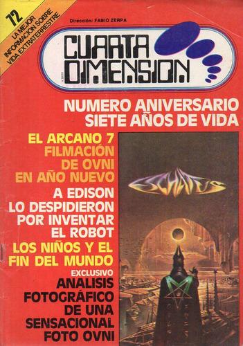 revista cuarta dimension 72 - director fabio zerpa