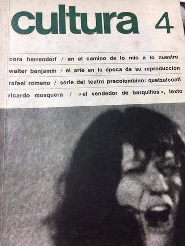 revista cultura. numero 4
