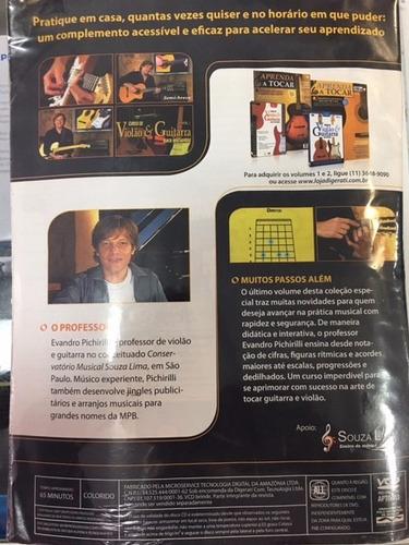 revista curso de violão e guitarra ano1 #03 envio r$ 9,50