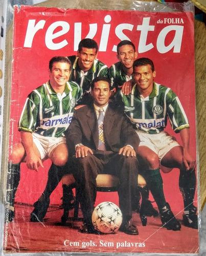 revista da folha palmeiras campeão paulista 1996 histórica