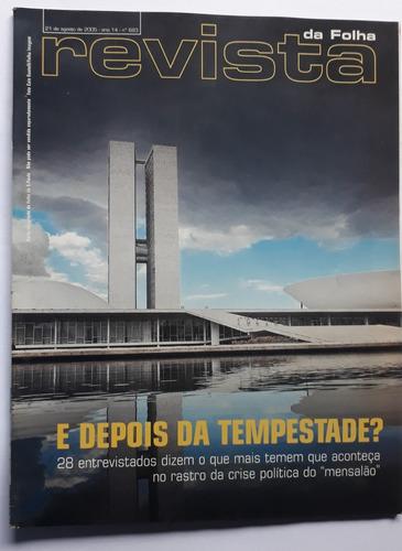 revista da folha s.paulo  agosto/setembro 2005 - 9 revistas