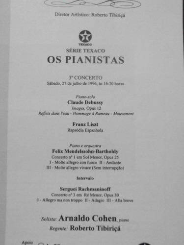 revista da orquestra sinfonica brasileira    1996