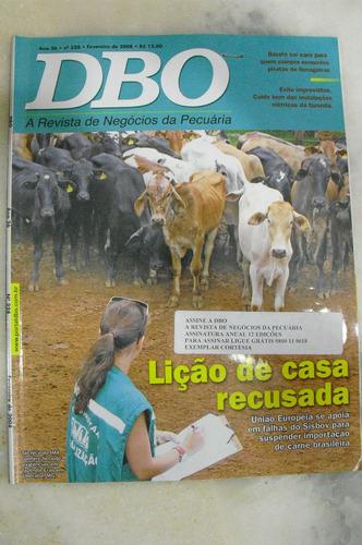 revista dbo rural  - ano 26 - no 328 - fev/2008