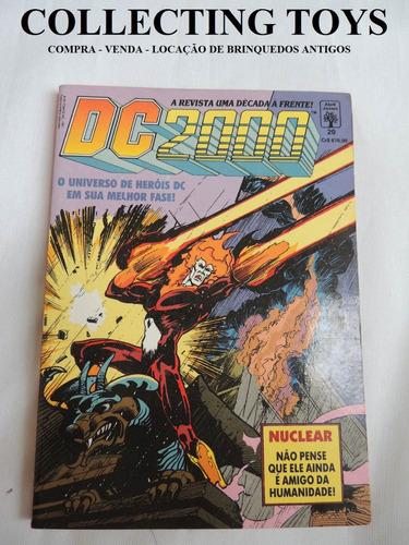 revista dc 2000 - nuclear  - nº 20 - anos 90  (a 12)