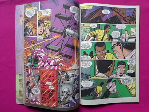 revista dc superman metalo editorial vid