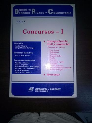 revista dcho priv y com 2002-3 concursos i