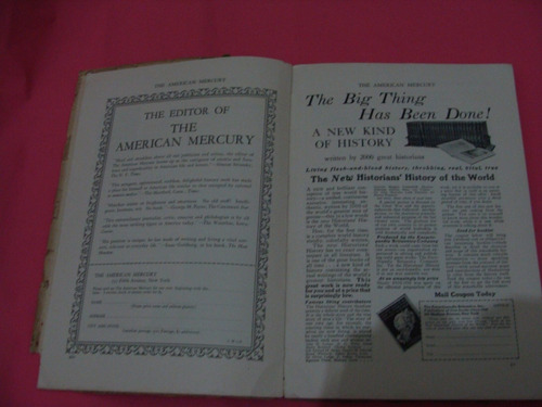 revista de 1926 the american mercury