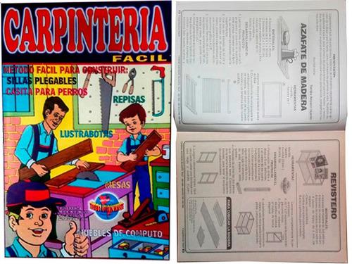 revista de carpinteria, albañileria, mecanica electrica