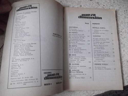 revista de ciencia ficcion nueva dimension # 126 1980