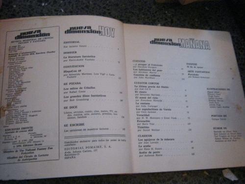 revista de ciencia ficcion nueva dimension # 13 1970