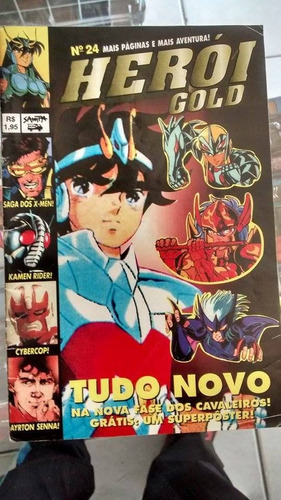 revista de coleção heroi gold nº 24