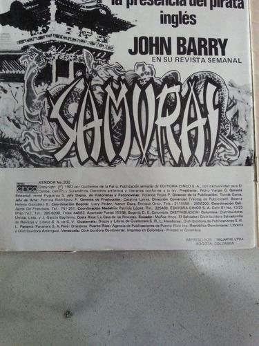 revista de comics antigua kendor 1980 precio x c/u
