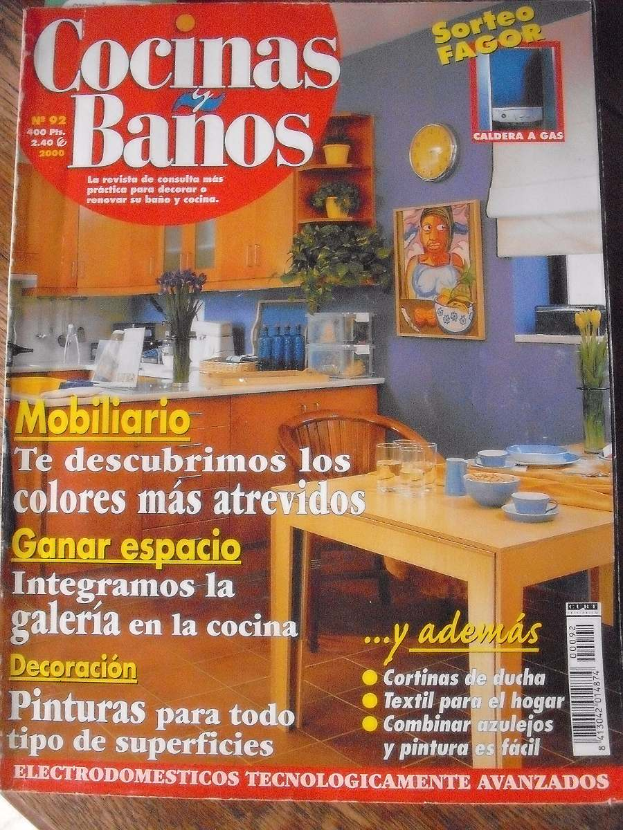 Revista De Decoración Cocinas Y Baños N° 92 Año 2000 - $ 60,00 en ...