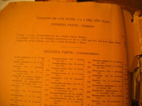 revista  de derecho mayo y junio de 1932 nº3-4