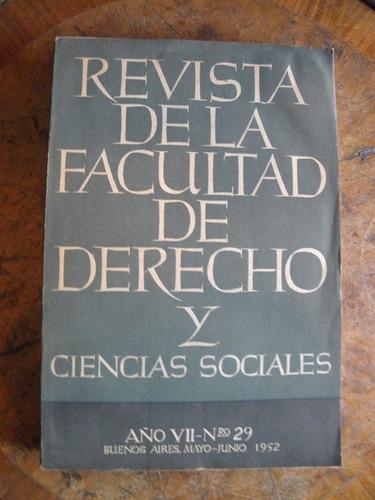 revista de facultad de derecho y ciencias sociales n° 29