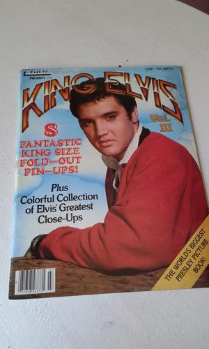revista de fotos y posters king elvis vol iii