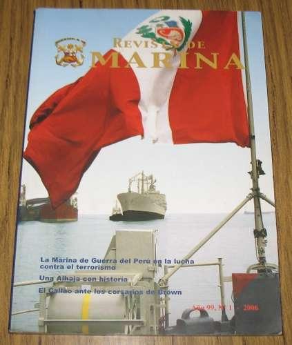revista de marina 2006 : historia naval  perú artículos