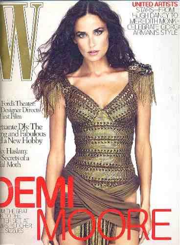 revista de moda  w: demi moore / colin firth / tom ford