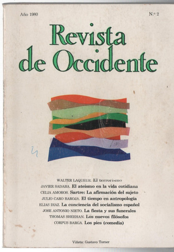 revista de occidente nº2. laqueur, sartre, sheehan