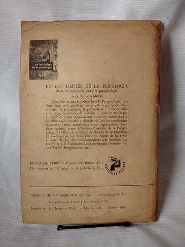 revista de parapsicologia vol 1, 1956, numeros 3 y 4 musso