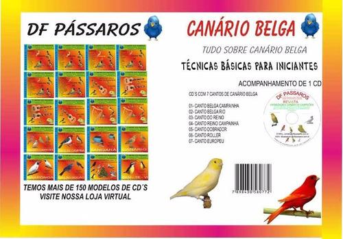 revista de pássaros canario belga