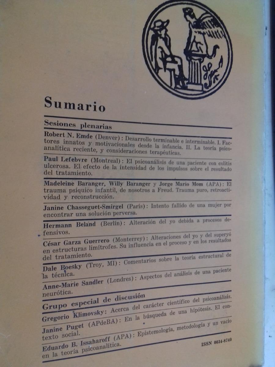 Revista De Psicoanalisis 44 Año 1987 Alr 373 91