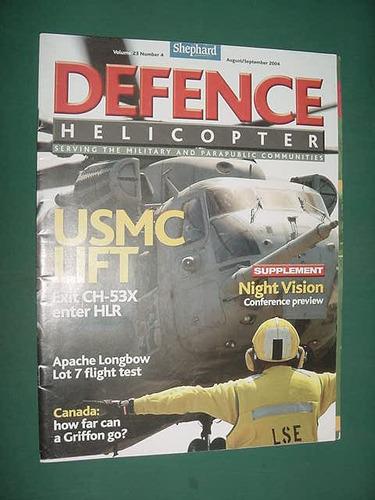 revista defence 9/04 helicopteros aviacion apache longbow