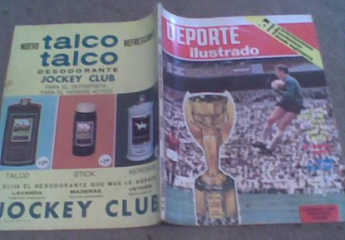 revista deporte color año 1966