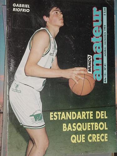 revista deportiva mundo amateur 81 dic93 basquet riofrio