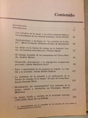 revista desarrollo y sociedad n° 13 - enero 1984 - la mujer