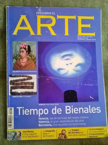 revista descubrir el arte nro 28 2001