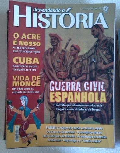 revista desvendando a historia nº 12 guerra civil espanhola